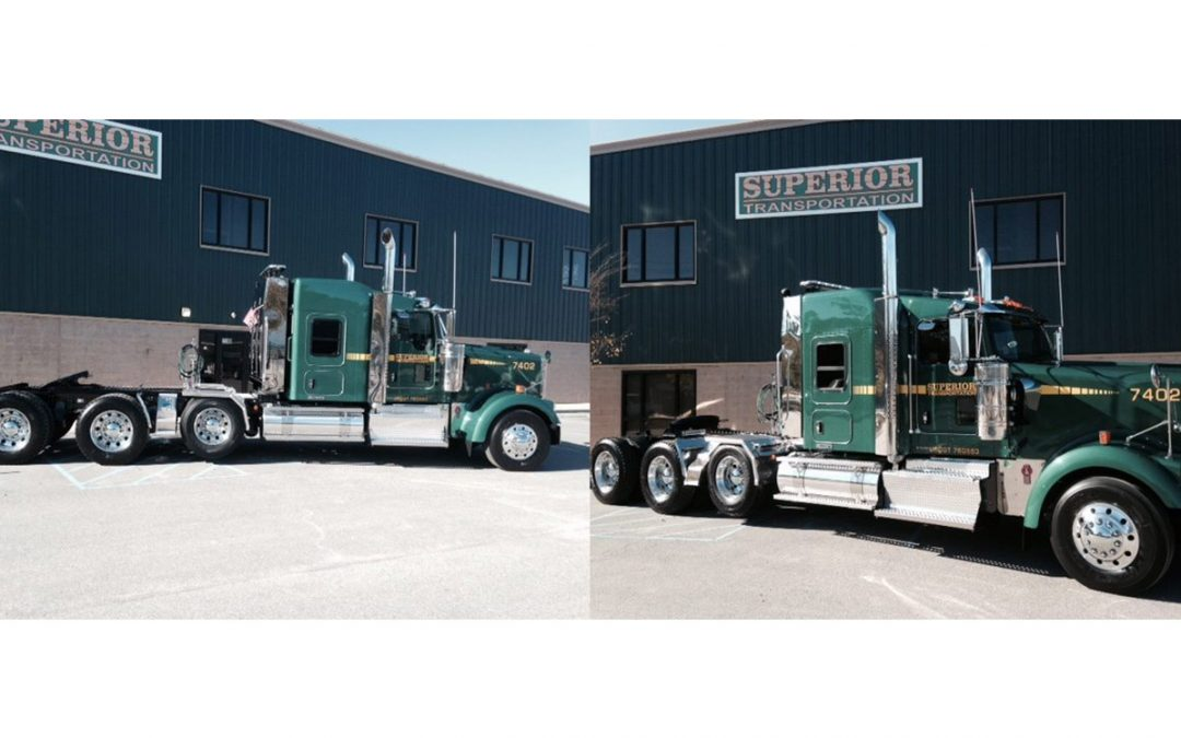SUPERIOR EXPANDS FLEET WITH 2015 KENWORTH W900L HEAVY HAUL TRACTORS